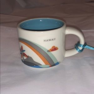 Starbucks Hawaii YAH Mini Mug/Ornament